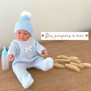 Poupon nouveau-né Antoine