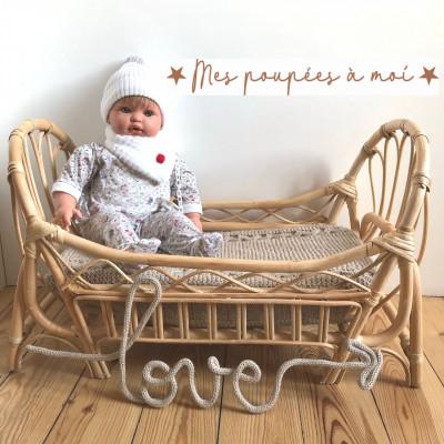 Poupon nouveau-né, corps souple, Esteban