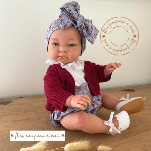 Poupon nouveau-né Julia